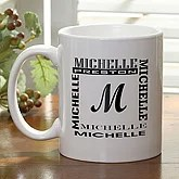 Personalized Custom Name Coffee Mugs - 6029