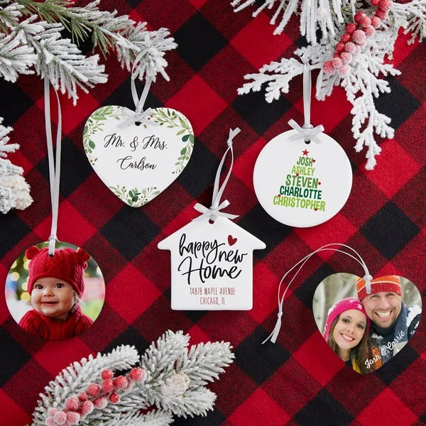 2019 personalized christmas ornaments