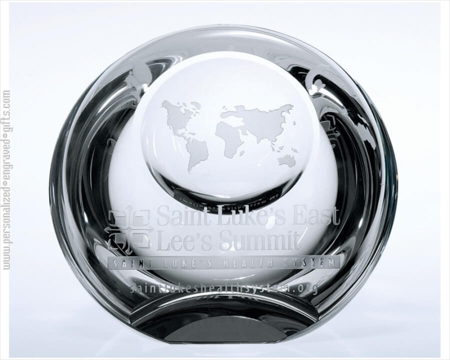 Logo Dome Paperweight