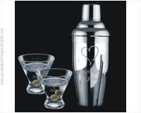 Custom Engraved Martini & Cocktail Shakers - Personalized ...