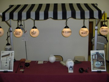 The WriteLite Personalized Patio or RV Awning Light