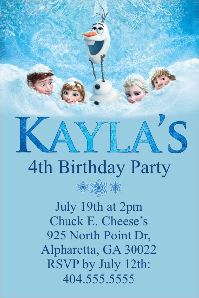 personalized party invites