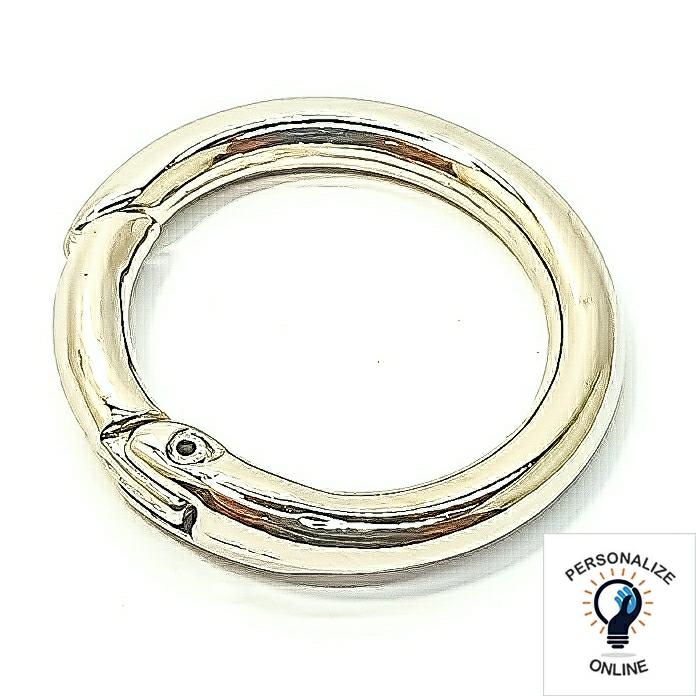 Estrela-mosquetao-prata-30-mm