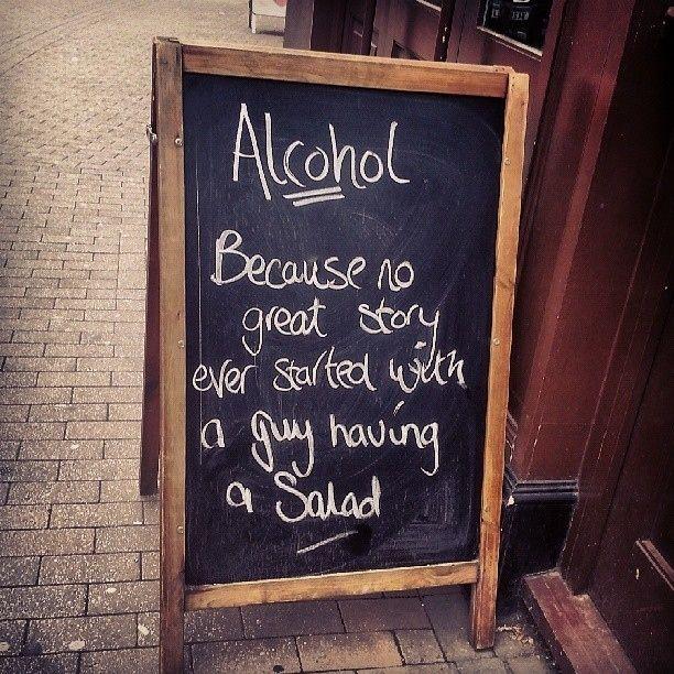 52 Funniest Pub Signs   Funny Pub & Restaurant Chalkboards