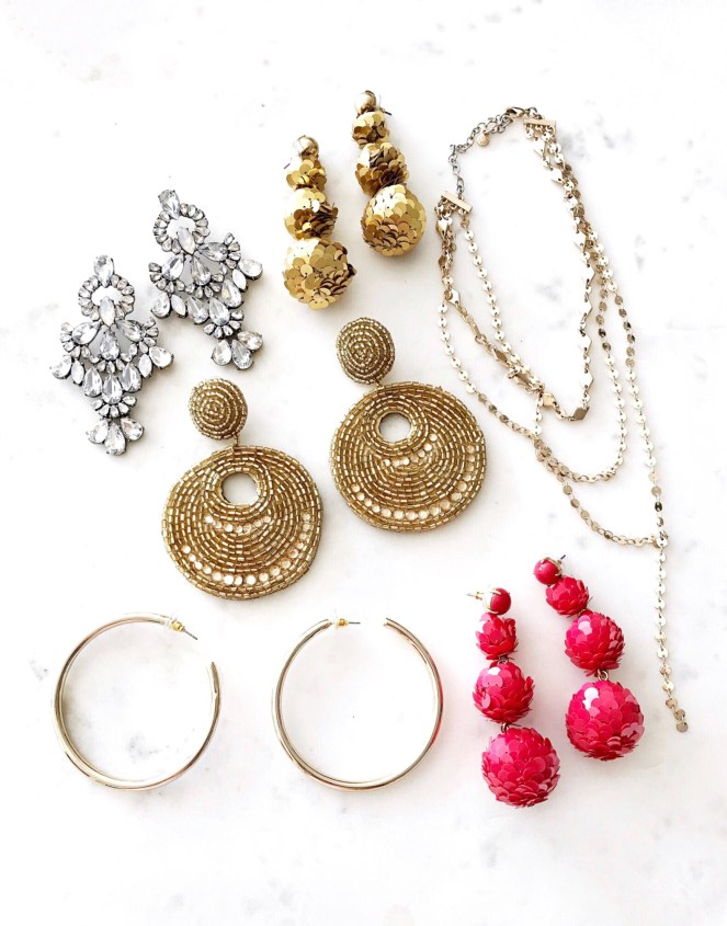 statement earrings, bauble bar, nordstrom earrings, j.crew, j.crew jewelry