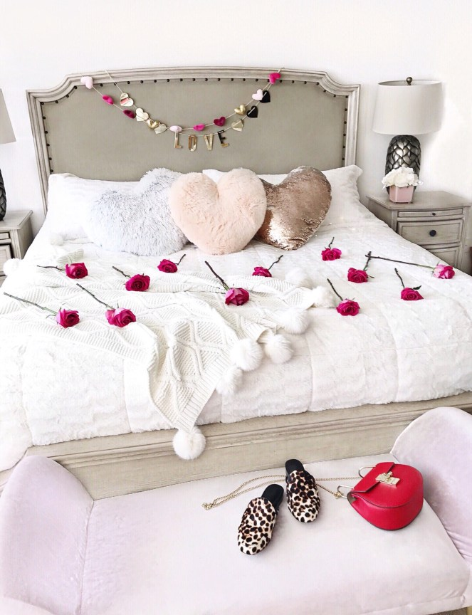 valentines day, home decor, heart pillows