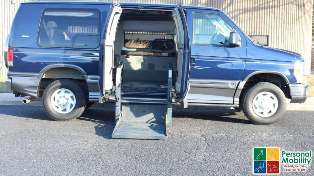 medium resolution of 2008 ford econoline e250 stock 8db56724 wheelchair van for sale personal mobility