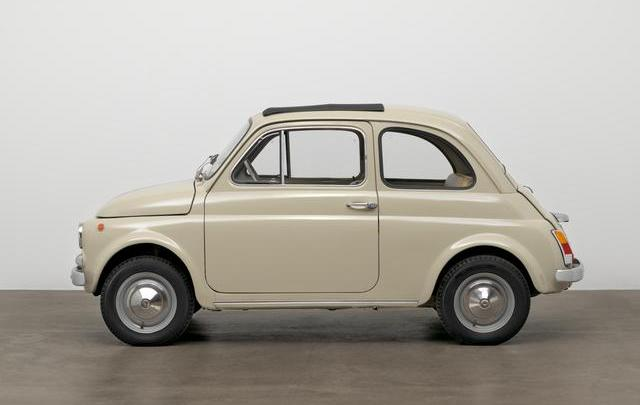 "Fiat 500 esposta al MOMA di New York nella mostra ""The value of good design"""