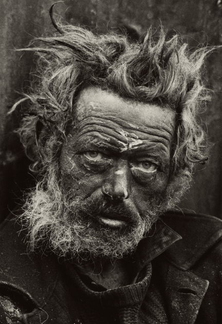 Homeless Irishman, Spitalfields, London 1935