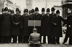 Protester, Cuban Missile Crisis, Whitehall, London 1962