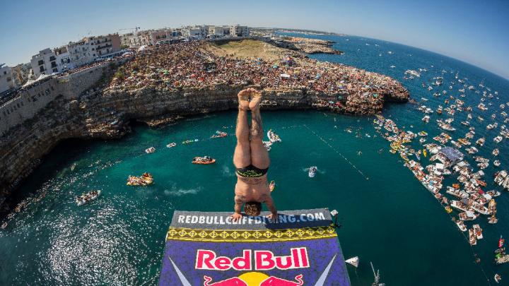 Red Bull cliff Diving World Series 2019 – Confermata Polignano a Mare