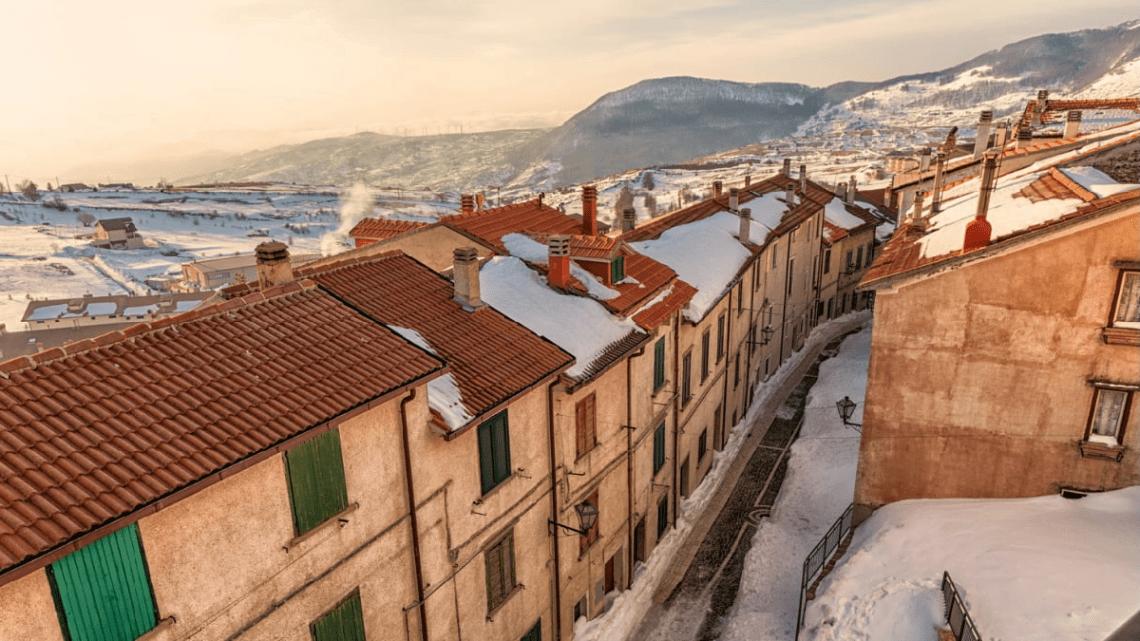 Capracotta: il borgo del Molise sulla cima dell'Appennino