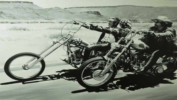 Easy Rider – Il mito della motocicletta come arte: fino al 24 febbraio alla Reggia di Venaria