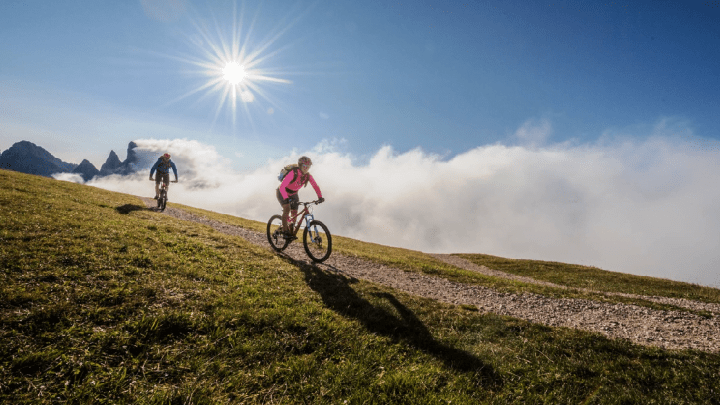 Val Gardena in Mountain-bike