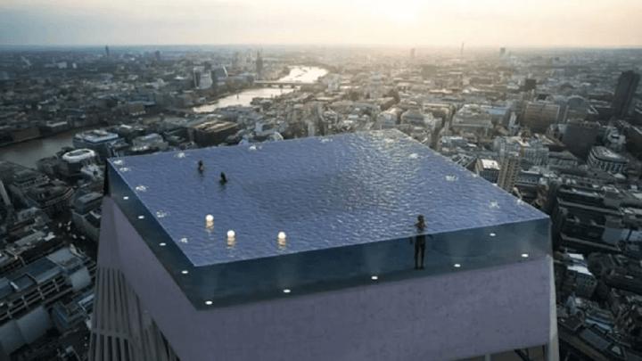 Sarà inaugurata a Londra la piscina più bella al Mondo