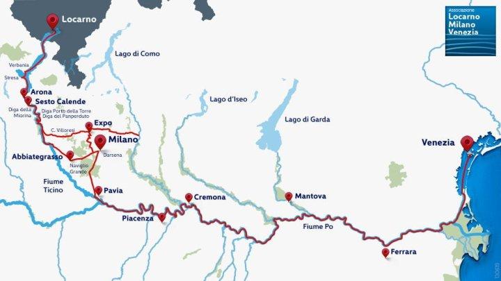 Novità per la via d'acqua da Locarno a Venezia