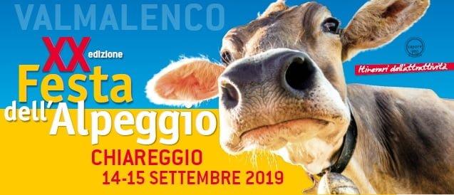 Festa dell'Alpeggio 2019 nella comunità della Valmalenco e di Chiareggio