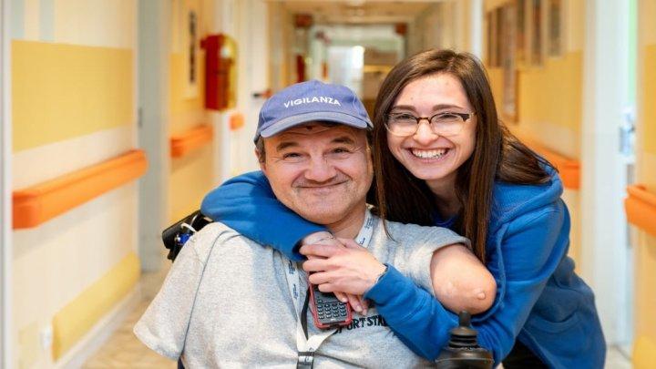 Accanto alle persone disabili presso la Fondazione Don Gnocchi