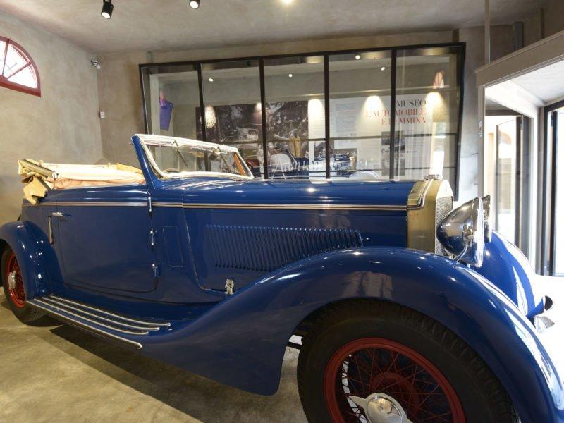 L'Alfa Romeo di D'Annunzio al Vittoriale