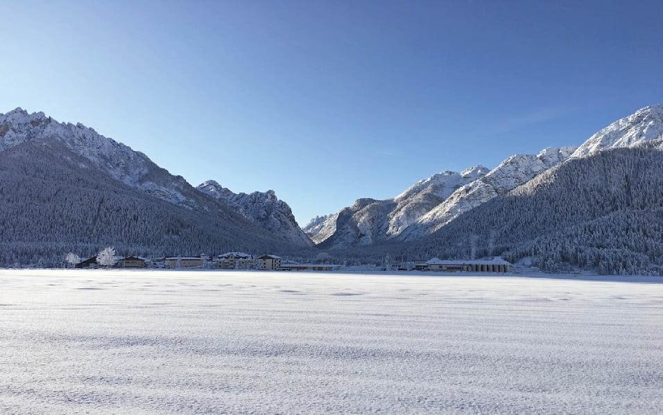 GF Dobbiaco-Cortina totalmente innevata e pronta per la Granfondo