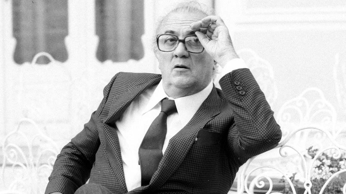 Federico Fellini: tenero sognatore della Riviera