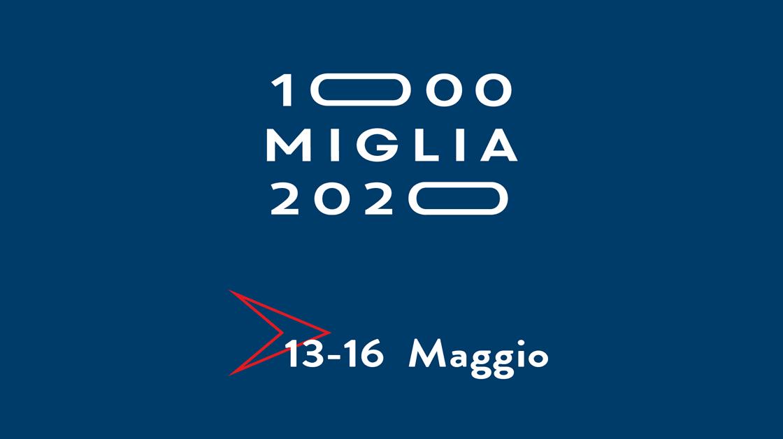 1000 MIGLIA 2020: dal 13 al 16 maggio 400 auto d'epoca in gara