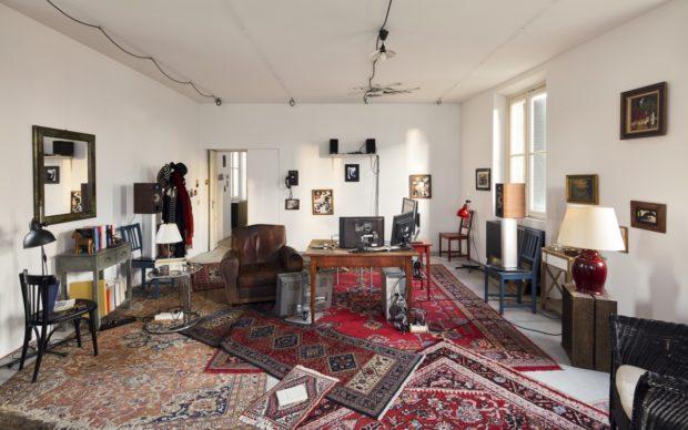 Lo studio di Godard a Milano