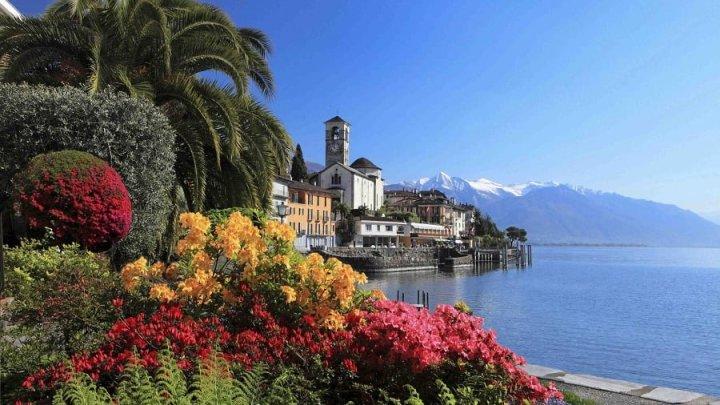 Brissago, sulla riva svizzera del Lago Maggiore