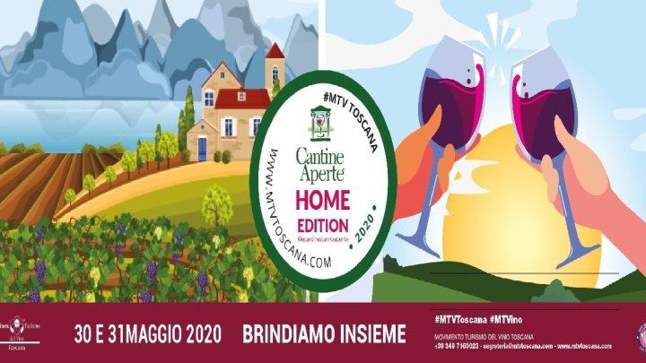 """Cantine aperte """"Home edition"""": in Toscana il 30 e 31 maggio il grande evento dell'anno non si ferma"""
