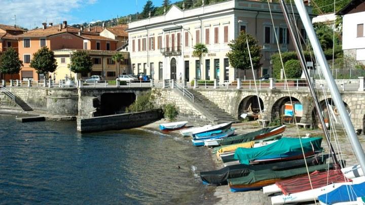 Stefano Manzoni sul Lago Maggiore