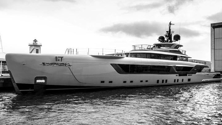 Admiral Yacht: varato Geco il nuovo Megayacht Charter di 55 metri