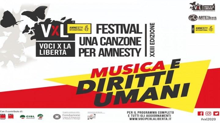 """Musica e Diritti umani: Niccolò Fabi, Marina Rei, Margherita Vicario, Lercio a """"Voci per la libertà – Una canzone per Amnesty"""""""