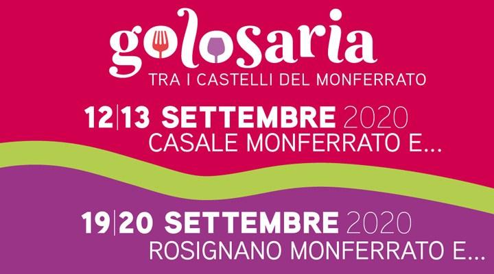 Golosaria 2020 nel Monferrato