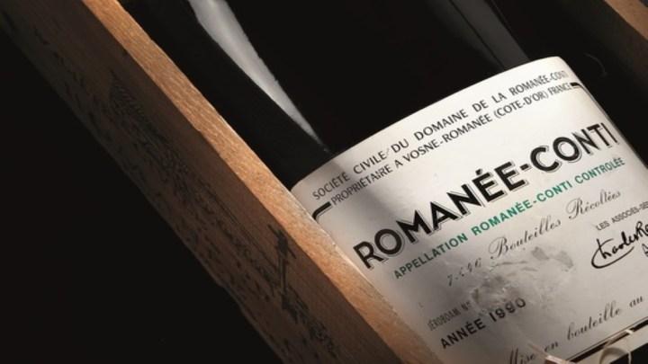 Il vino più costoso venduto in Italia