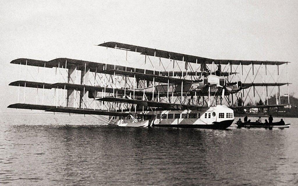 La storia del Capronissimo, il grande idrovolante