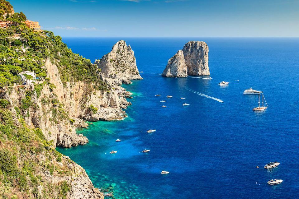 Capri l'isola azzurra dell'amore
