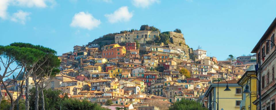 Il borgo medievale di Rocca di Papa