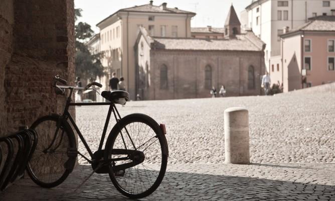 In bici nelle campagne di Ferrara