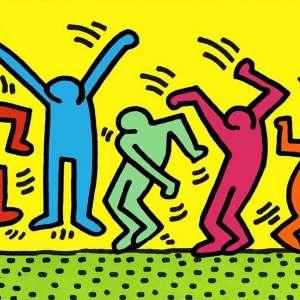 Keith Haring, vivere per la street art