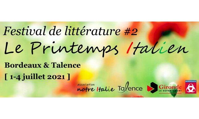 Festival della letteratura italiana di primavera 2021