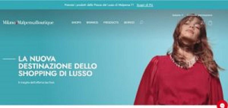 Nasce il portale Milano Malpensa Boutique, l'evoluzione del retail, un marketplace dedicato ai brand del lusso