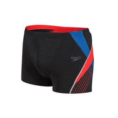 Speedo Fit Splice Aquashort Rood