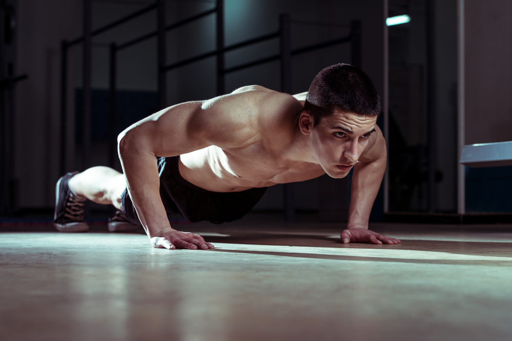 RECON push ups will build a powerful core and lean, muscular body for men.