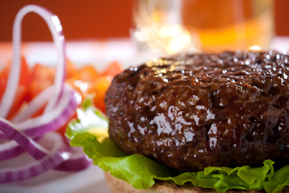 Have a juicy hamburger and still lose weight with Personal Trainer Food!