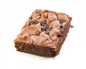 A fudge brownie is not diet food, but is it a healthy choice?