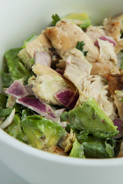Pin it to enjoy this delicious apple and avocado salad from Personal Trainer Food!