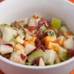 Bacon and Cheddar Chicken Salad