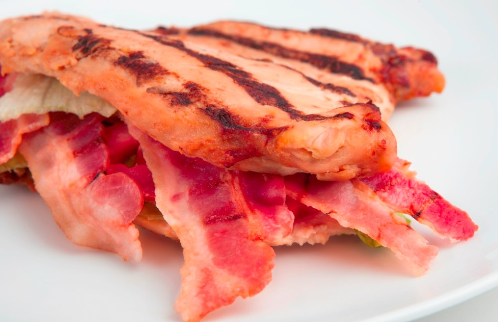 Lose 10 pounds in a week with Personal Trainer Food's Bunless Grilled Chicken BLT!