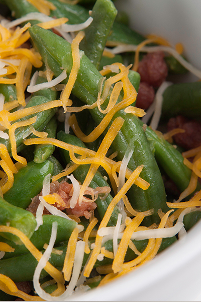 Pin this-- weight loss made easy with Personal Trainer Food and southern Smothered Green Beans.