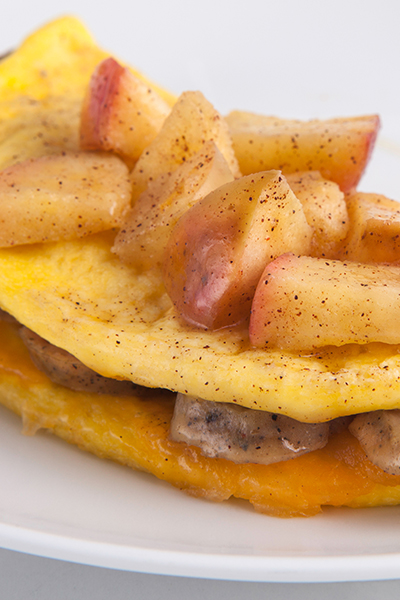 Pin it so Personal Trainer Food can help you lose weight fast with this Sweet and Savory Breakfast!